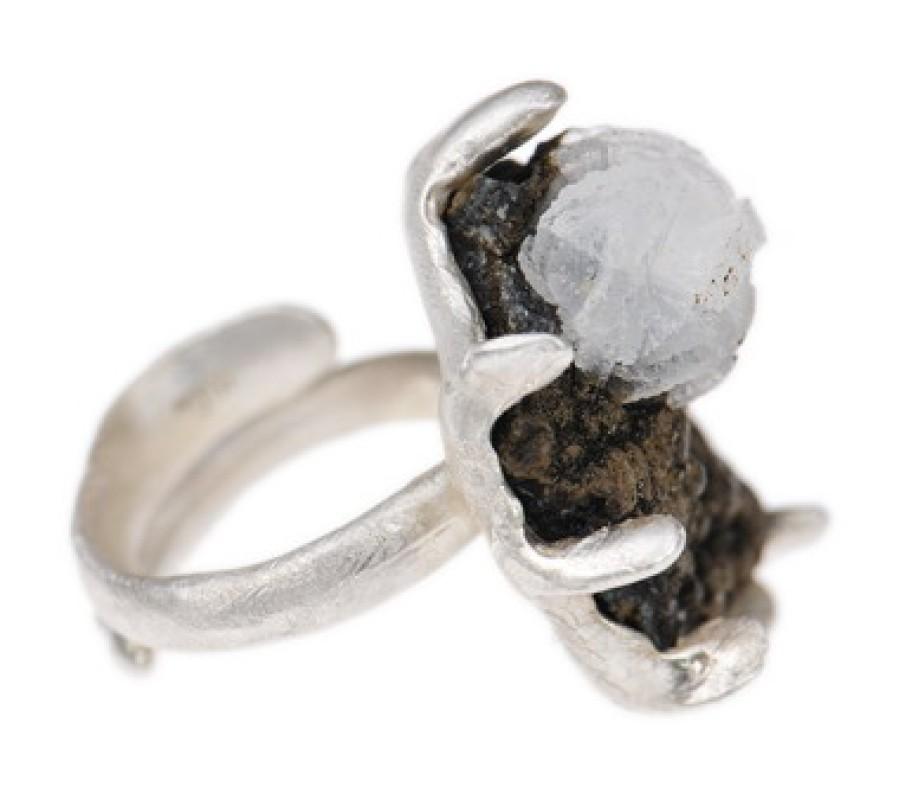 Zeolite Seascape Pendant Necklace