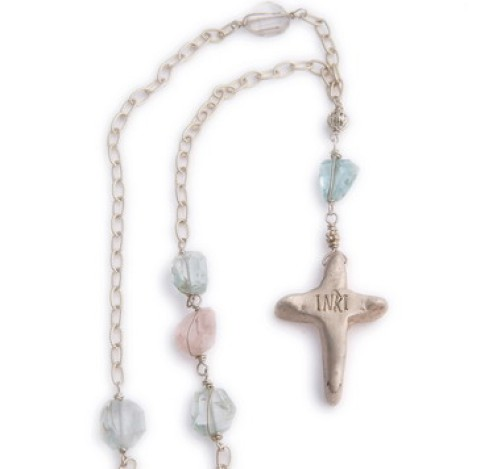 Fine Silver Handmade Cross Necklacee