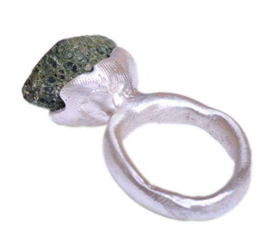 Flower Geode Ring